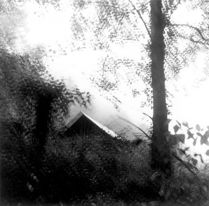 "Untitled, ca. 1968 – 72 gelatin-silver print, 6 3/4 x 6 3/4"" source: https://fraenkelgallery.com/exhibitions/ralph-eugene-meatyard"